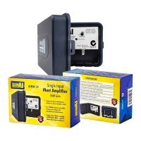 Masthead Amplifier 1 Input 34dB Gain 88-694MHz 12V DC Lte Filter