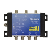 Multiswitch 3 In 4 Out 2 Satellite Inputs 1 Terrestrial Input