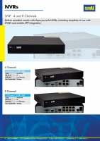 4 Channel 5MP NVR Plug and Play PoE