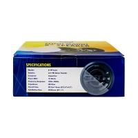 Flush Mount Speaker 8 Inch Pair 70 Watt AERIAL INDUSTRIES