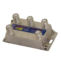 Splitter 4 Way 5 to 2400 MHz All Port Power Pass AERIAL INDUSTRIES
