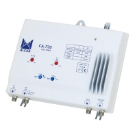 Distribution Amplifier 2 Inputs +42dB SAT IF -2dB VHF / UHF Mix