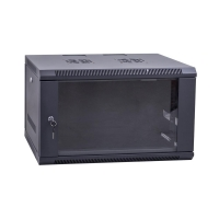 "Wall Cabinet 19"", Lockable  6RU x  450mm Deep"