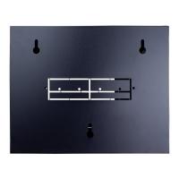 Data Wall Cabinet 4RU Mini 10 Inch Patch Panels Black
