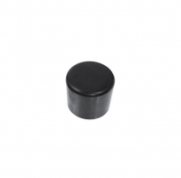 Mast Cap 25mm Black