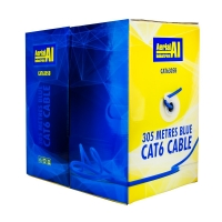 CAT6 UTP Cable 305 Metres Blue - Click for more info