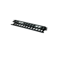 Data Cabinet Cable Management Rail for 19 Inch