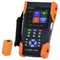 CCTV Tester, IP, AHD, CVI, TVI, Analogue - H.265 - Click for more info
