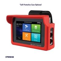 CCTV Tester 4K HD 5 In 1 Rapid ONVIF IP CVI AHD TVI CVBS 12V DC