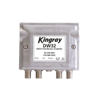 Distribution Amplifier 2 Input +32dB Gain  2 In 2 Out