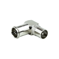 Adapter PAL Male to PAL Female Right Angle - Click for more info