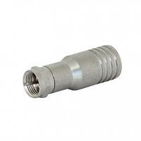 RG11 Hex Crimp Fixed Pin F Connector