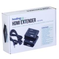 CAT5e/6 50m HDMI Extender with IR return & HDMI loop through