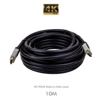 HDMI 4K Lead Male to Male 10.0 Metres - Click for more info