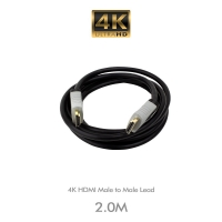 4K HDMI Male to Male Lead  2 Metre - Click for more info