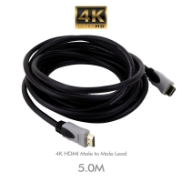 4K HDMI Male to Male Lead 5 Metre - Click for more info
