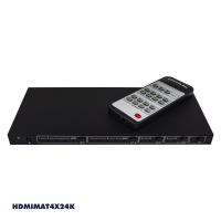 HDMI 2.0b Matrix 4 In 2 Out with EDID, HDCP2.2 18Gbps 4K Digital Toslink & Anal.