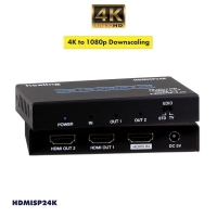1 to 2 HDMI 2.0b Splitter HDCP2.2 18G 4K Downscaling - Click for more info