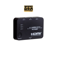 HDMI Switch 3 Inputs 1 Output 4K - Click for more info