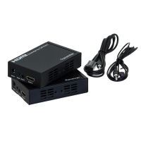 HDMI Extender up to 100m (Set) over IP network + IR Repeater - Click for more info