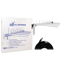 LPV345F Caravan Antenna Kit & 10m Flylead - with Box