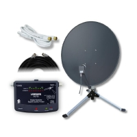 Satellite Caravan Kit Includes SK3200 Meter, 80cm dish (No Receiver Included)