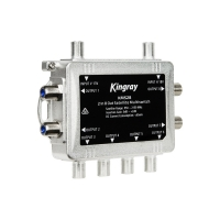 2 in 8 Out Satellite Multiswitch F31103 KINGRAY