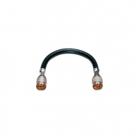 450mm Quick F Shielded Interconnect Lead, K Series