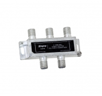 4 Way Splitter 5-2400MHz SMS Foxtel Approved.