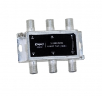 4 Way Tap 20dB 5-2400MHz SMS Foxtel Approved