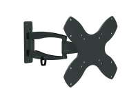 "23"" to 42"" Full Motion 3 Point Swivel Bracket, Up To 20kg"
