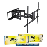 "TV Wall Bracket FULL MOTION 800x600 VESA to 90"" 50kg max"
