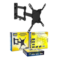 TV Wall Mount Bracket FULL MOTION 3 Point SWIVEL VESA 200x200 13-42 Inch to 20kg - Click for more info