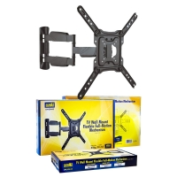 "23"" To 55"" Full Motion TV Wall Mount, 3 Point Swivel, Up To 35kg"