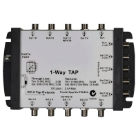 Cascadable Multitap 5 Input 1 Drop 10dB FOXTEL Approved No. F30424