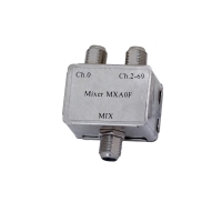 VHF/UHF Indoor F Type Diplexer - Mix CH 0 / 2-69