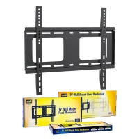 TV Wall Mount Bracket FIXED VESA 400x400 32-55 Inch to 80kg Profile 22mm - Click for more info