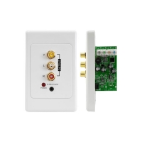 Wall Plate Receiver for AV Distribution Over CAT5