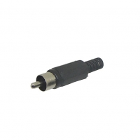 RCA Plug Solder, Black