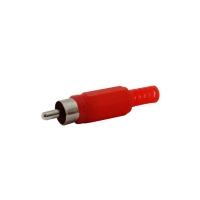 RCA Plug Solder, Red