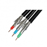RG59 100m AV Red Green Blue Dielectric Cable