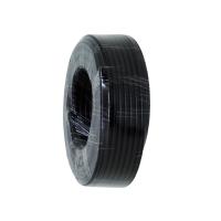 Coax RG6 Quad Shield 30m Roll, Black