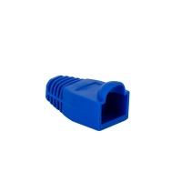 PVC Boot for CAT5e /  6 (Blue) 10 per bag - Click for more info