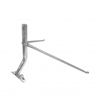 Heavy Duty Satellite Flexi-Mount up to 90cm - FOXTEL Approved No. F10404