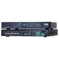 NVR, 16x IP Camera, 2x HDD, Up To 4K Recording, 16x PoE 48V