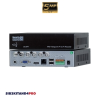 AHD CCTV kit, 4x SIB5AHDV, 1x SI104T, 1x HD2TB, BNC 16 & 24M