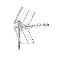 6 Element UHF Sigma Aerial with Lte Filtering,  F Type