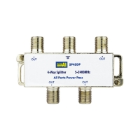 4 Way Splitter 5-2400MHz Diode Steer All Ports Power Pass
