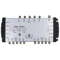 Splitter 4 Way 5 Inputs Foxtel Approved No. F30427