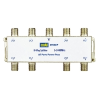 8 Way Splitter 5-2400MHz Diode Steer All Ports Power Pass